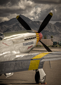 I loved shooting the P51 Mustang.