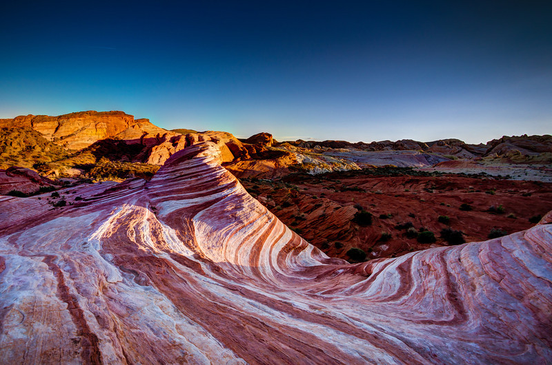The Fire Wave A Popular Subject for Landscape Photographers Valley of Fire State Park, Nevada
