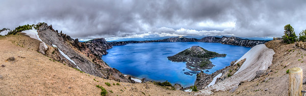 Crater Lake HDR Panorama