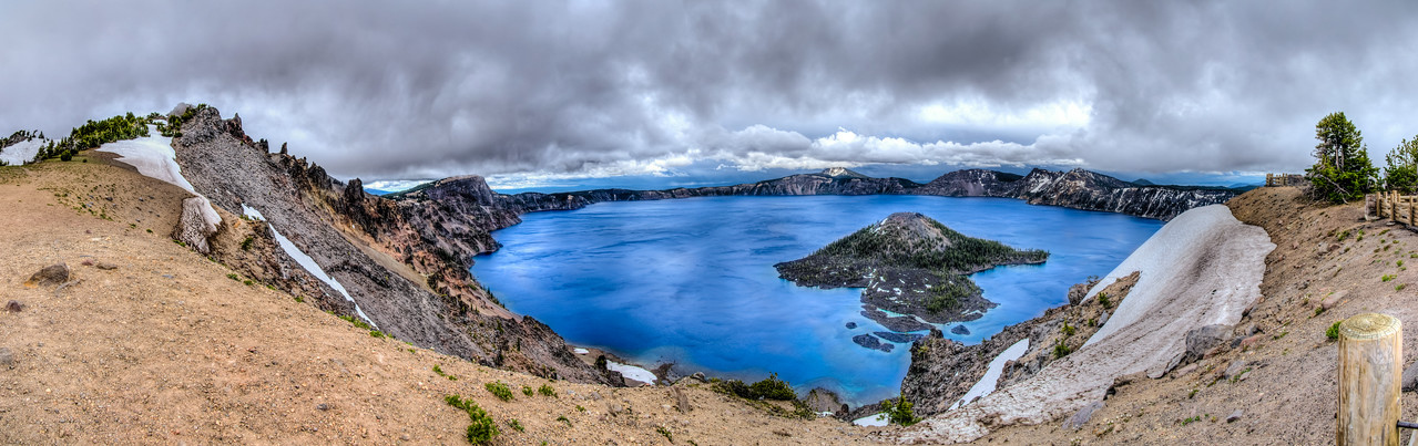 Crater Lake 210 HDR Pano 24
