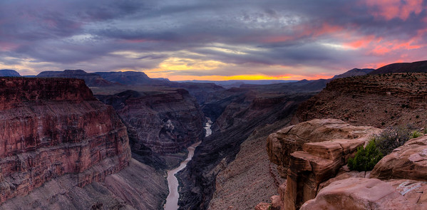 Sunset at Toroweap, Grand Canyon National Park