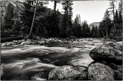 King's Canyon B&W