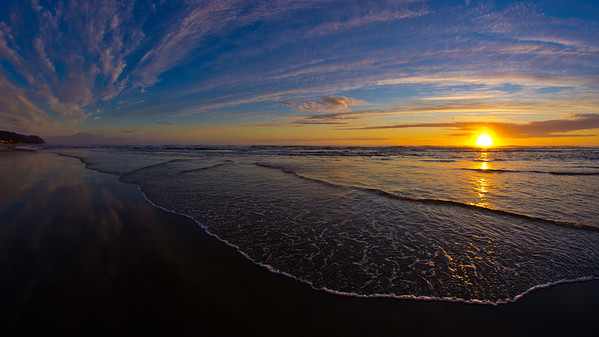 Oregon Beach Sunset