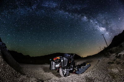 Roadside Rest Under the Stars