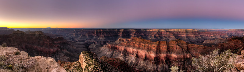 Point Sublime Before Dawn - HDR Panorama