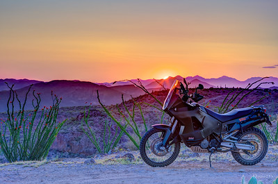 KTM Ocotillo Sunset HDR